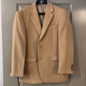 Jos. A. Bank camel hair sport coat 38R